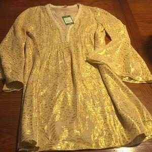 Lilly Pulitzer Sand Bar Chiffon Dress